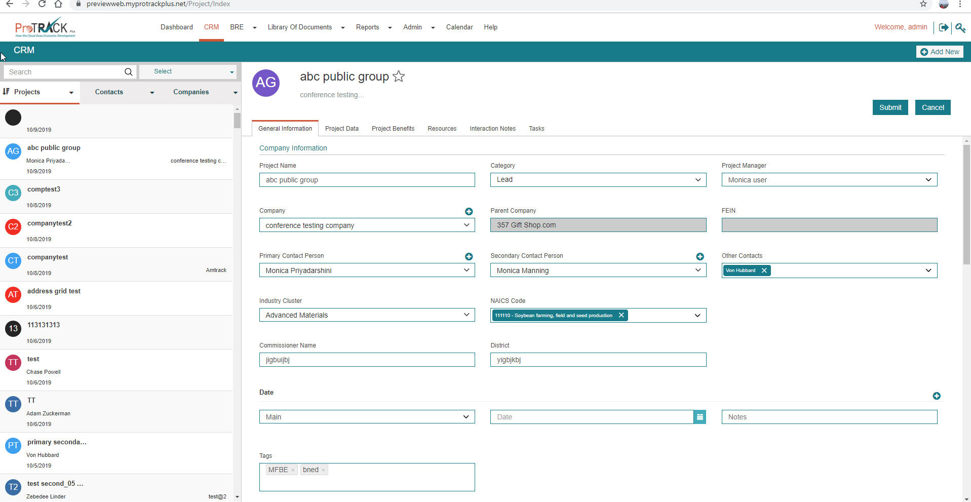 Full CRM Functions